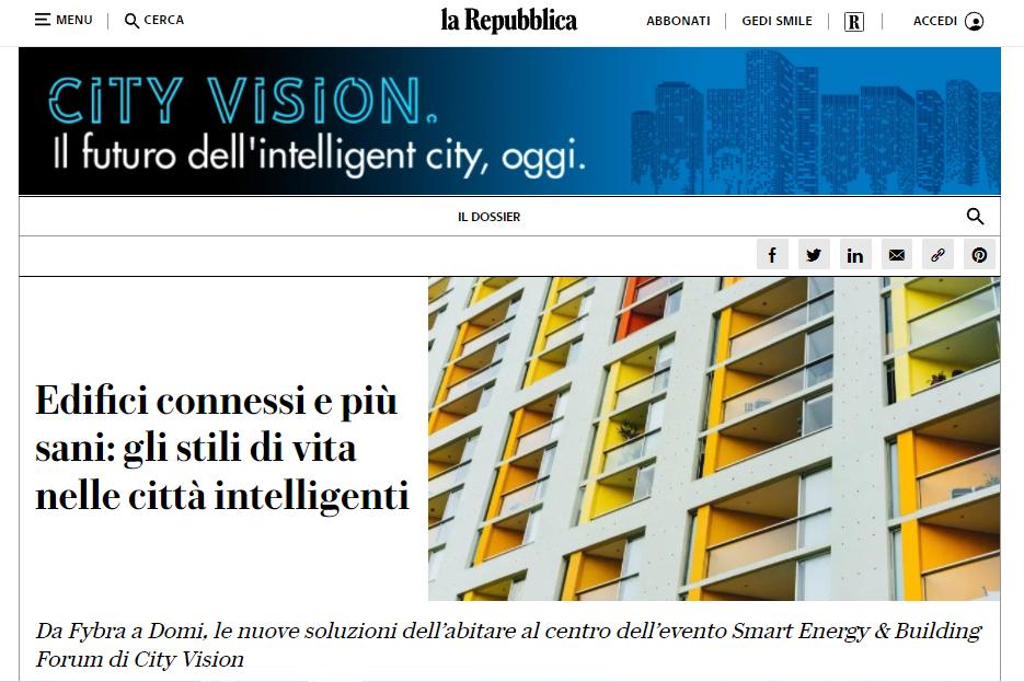 Edifici connessi e più sani: gli stili di vita nelle città intelligenti